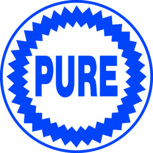 Pure gas logo